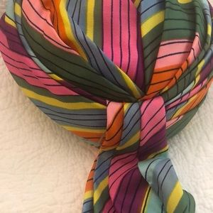 Fabulous vintage hat by Coralie - rainbow colors
